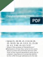 Deuteronomy Outline Slides