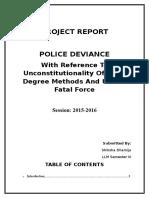 Police Deviance.docx