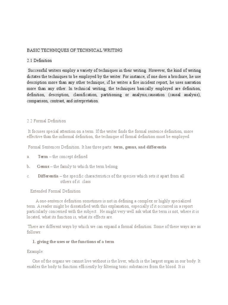 """basic techniques in technical writing 20 responses to """"10 tips about basic writing competency"""" talidorn on january 03, 2013 4:15 pm thank you for sharing your points i enjoyed your opinions."""