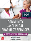 Ashley W. Ells, Justin Sherman-Community and Clinical Pharmacy Services_ a Step-By-Step Approach-McGraw-Hill (2013)