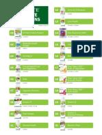 Nutrilite Competitive Comparisons