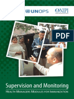 Immunization m 4 supervision