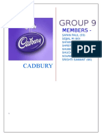Cadbury Marketing  Mix