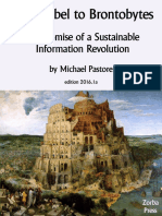 From Babel to Brontobytes - The Promise of a Sustainable Information Revolution