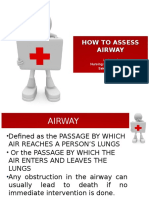 Assessing Airway