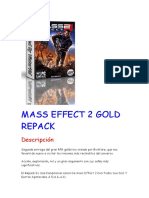Instalacion Mass Effect 2 Gold Repack