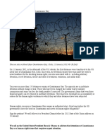10 Years on End Detentions at Guantánamo Bay
