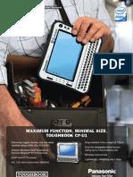 Panasonic Toughbook CF-U1- Fisa Tehnica