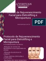 protocoloderejuvenescimentofacialparaeletroliftingemicropuntura2016