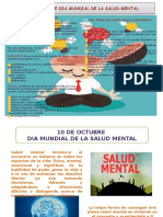 SALUD MENTAL Folleto, Afiche, Pendon