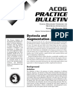49 Dystocia and augmetation of labor 12-2003 (reaffirmed 2011).pdf