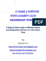 How to Make a Fortune With Icharity Club Membership Website