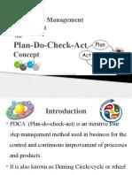 Plan-do-check-act cocept