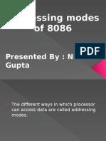 Addressing Modes by Nitin Gupta