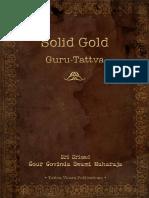 Solid Gold - Guru Tattva