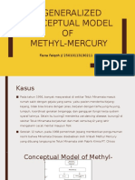 generalized conceptual model of methyl mercury