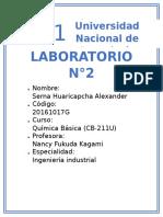 LABORATORIO #2 (tabla periodica)