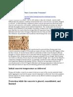 What Happens When Concrete Freezes