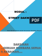 Modul Street Dakwah