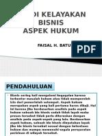 Studi Kelayakan Bisnis-hukum
