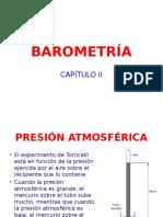 Cap II - Barometría