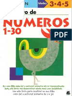 Kumon Meu Livro de Numeros 1a30
