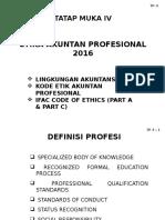 Pertemuan 4 Etika Akuntan Profesional