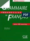 Grammaire Progressive Du Français - Niveau Avancé.pdf