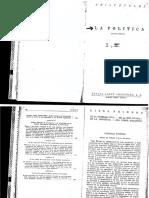 Aristoteles- La Politica Libro I y III