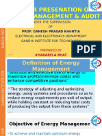 Energy Management & Audit