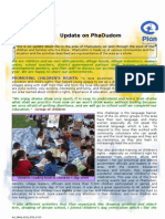 Area Update for Pha Oudom, Bokeo, Laos