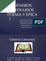 Presentacion de Generos Literarios