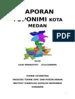 Cover Toponimi Medan