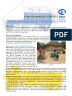 Country Strategic Plan Summary for 2008-2013