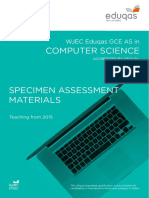 Wjec Eduqas as Computer Science SAMS Formatted