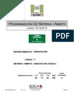 Progr Ciencias Aplicada i 1º de Fpb 2014-2015