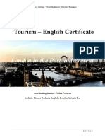 Atestat Engleza Turism