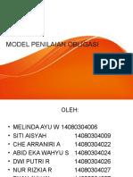 Model Penilaian Obligasi