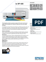 Expression Home XP 425 Datasheet