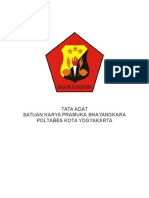 Adat Saka Bhayangkara Poltabes Kota Yogyakarta