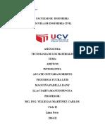 Facultad de Ingenieria Aditivos Final