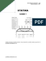 Statik Ujian 1 2016