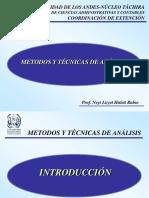 Diapositivas UNIDAD III Metodos y Tecnicas de Analisis (1) (1)