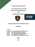 Silabo Desarr. Doctrina Policial 2016