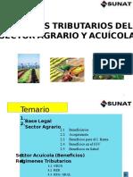 Sector Agrario y Acuicola