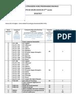 Liste de Cours Hors Erasmus_3A