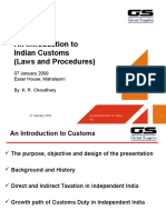 Indian Customs Laws and Procedures