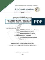 Pizarra Digital Interactiva Capacitación