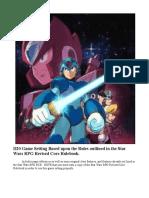 Megaman X RPG Part 1