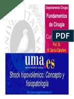 019_Shock Concepto y Fisiopatología